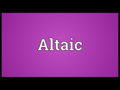 Altaic Meaning