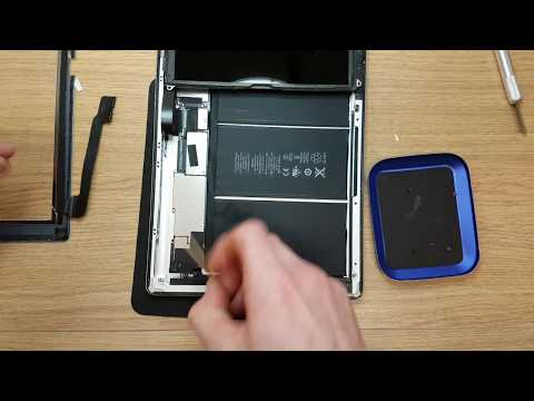 Apple  iPad 3 a1430 Replacing the touchscreen and cleaning the display. Part 1 of 3