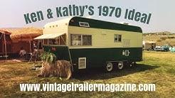 "1970 Ideal Vintage ""Tiki Trailer"""