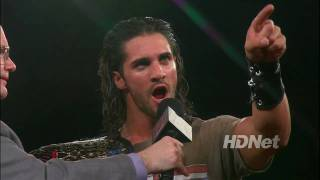 Tyler Black speaks to his fans and critics / ROH on HDNet 8/9/10
