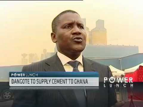 Aliko Dangote on Cement Industry in Nigeria