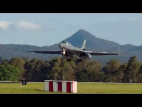 RAAF Amberley hosts USAF B-1 bombers