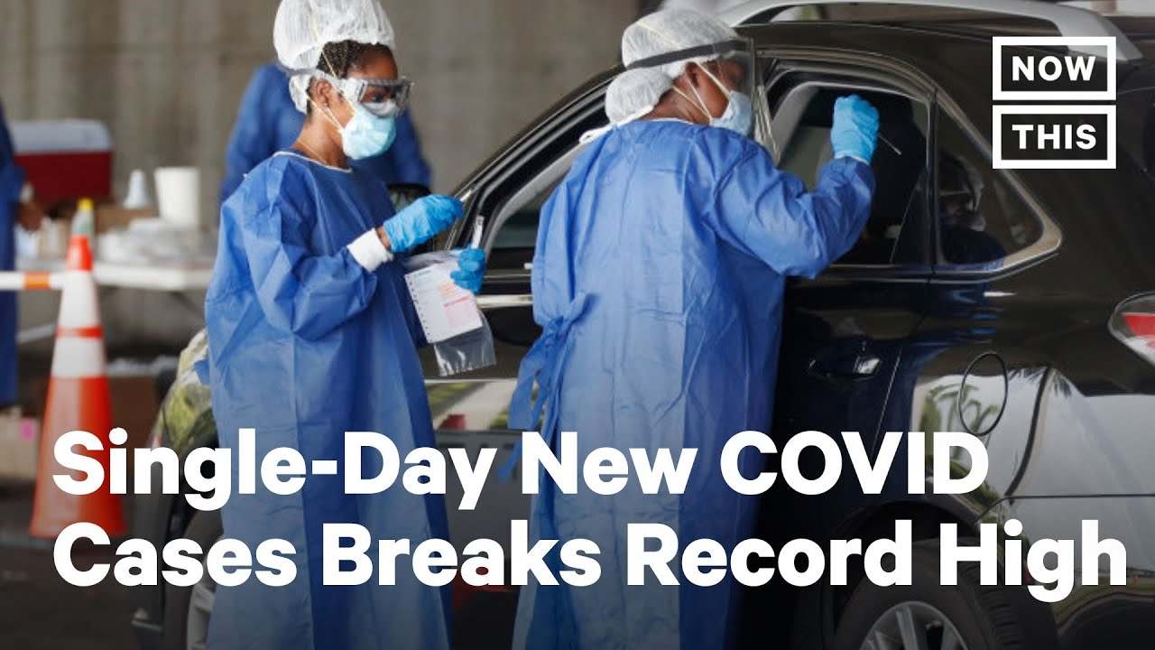Download Florida Sets Record for New COVID-19 Cases | NowThis
