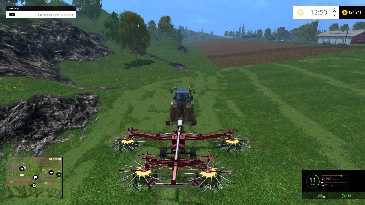 Farming Simulator Silage For The Cows YouTube - Farming simulator 2015 us map feed cows