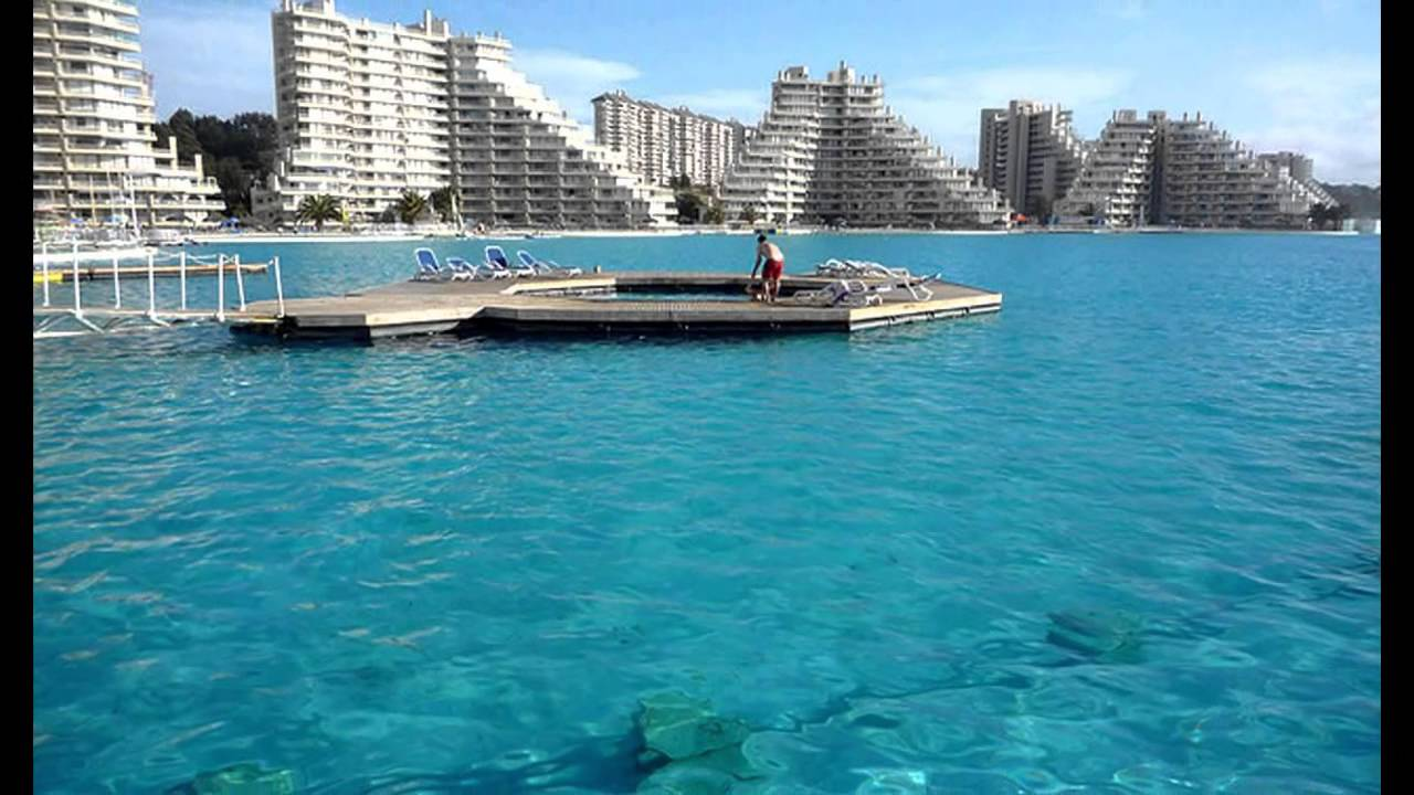 Largest Pool In Chile >> The Largest Pool In The World Algarrobo Chile