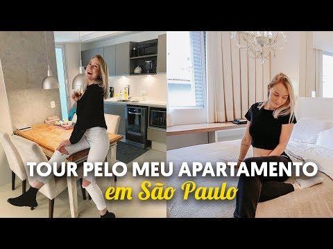 TOUR PELO MEU APARTAMENTO EM SÃO PAULO - SP