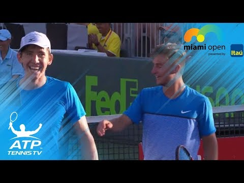 2016 Miami Open: incredible doubles hot shot