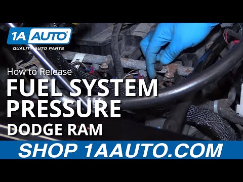 How to Release Fuel System Pressure 02-08 Dodge Ram