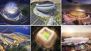 أضخم مشاريع بناء الملاعب المستقبلية في العالم العربي| ملعب بغداد الدولي ....