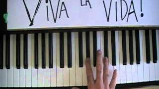 """Viva La Vida"" How to Play on Piano for Beginners"