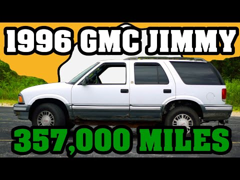 357,000 Mile 1996 GMC Jimmy High Mileage Review