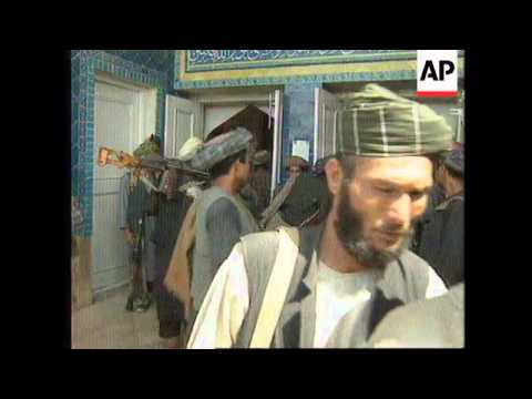 AFGHANISTAN: CAPTURE OF MAZAR-E-SHARIF BY THE TALIBAN LATEST SITUATION