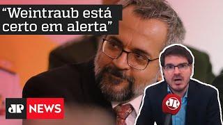 Constantino: Weintraub está certo em alerta, só falta prender gente por porte ilegal de memes