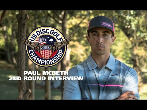 USDGC 2015 2nd Round Interview - Paul McBeth