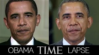 Obama Time-Lapse (2009-2014)