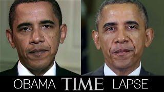 Obama Time-Lapse (2009-2014)