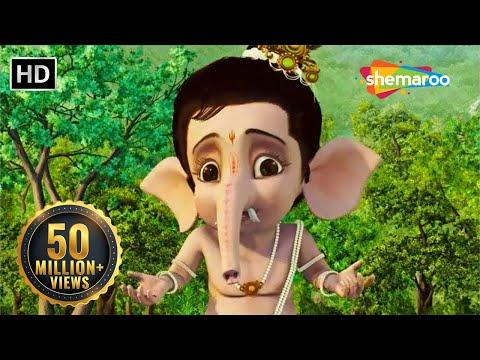 Bal Ganesh 2 - Part 3 Of 7 - Story of lord Ganesh - Kids Cartoon movie