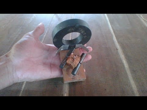 How To Make DC Motor From Old Power Horizontal Transformer, New Idea To Create DC Motor
