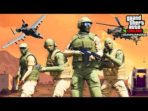 Save GTA Online: Gunrunning Trailer (Military DLC Trailer) Pics
