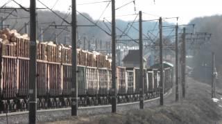 Вантажний склад з ВЛ-80, ст. Десенка