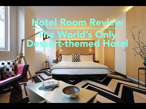 Hotel Room Review: The World's Only Dessert-themed Hotel - Adelphi Hotel