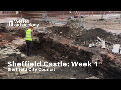 Sheffield Castle excavations - Week 1