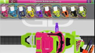 Kamen Rider Ex-Aid All Henshin - Kamen Rider Ex-Aid Flash Belt .8