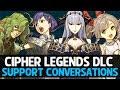 Fire Emblem Echoes: Shadows of Valentia: Cipher Legends - All Support Conversations [DLC]