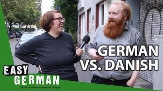 How similar are German and Danish?   Super Easy German (119)