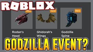 POSSIBLE NEW GODZILLA EVENT COMING SOON?   Roblox