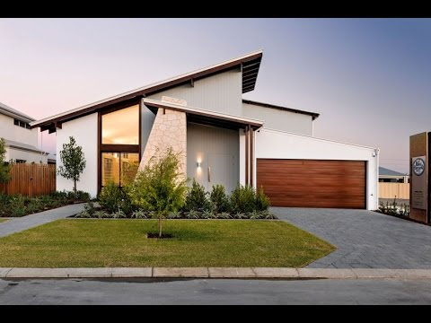 Modern House Design With Striking Slevation That Casts A