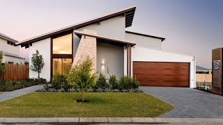 Modern House Design With Striking Slevation That Casts A Unique Angular Perspective