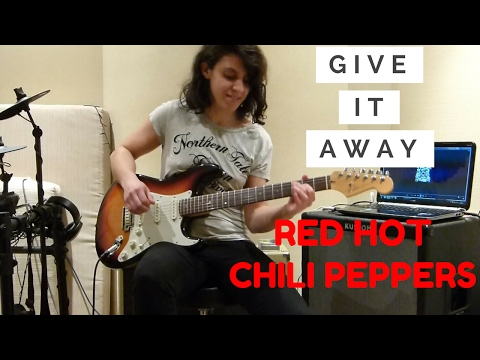 Give It Away [Guitar Cover] REVERSE DELAY SOLO - Red Hot Chili Peppers