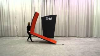 Medallion 2 Tension-Fabric Exhibit Setup