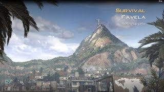 MW2 Survival FAVELA Gameplay - Call of Duty Modern Warfare 2 Survival Mod