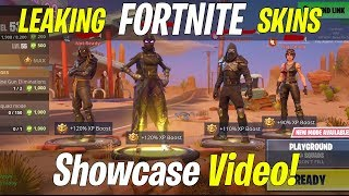 Leaking Fortnite Roadtrip Skin and Emotes! In-Game! (HYPEX, Happy Power, Tasty)