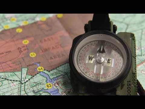 How To Read A Map (Topographical Map Reading Basics)