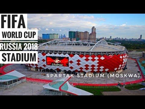 FIFA World Cup 2018 Russia Stadium - Spartak Stadium
