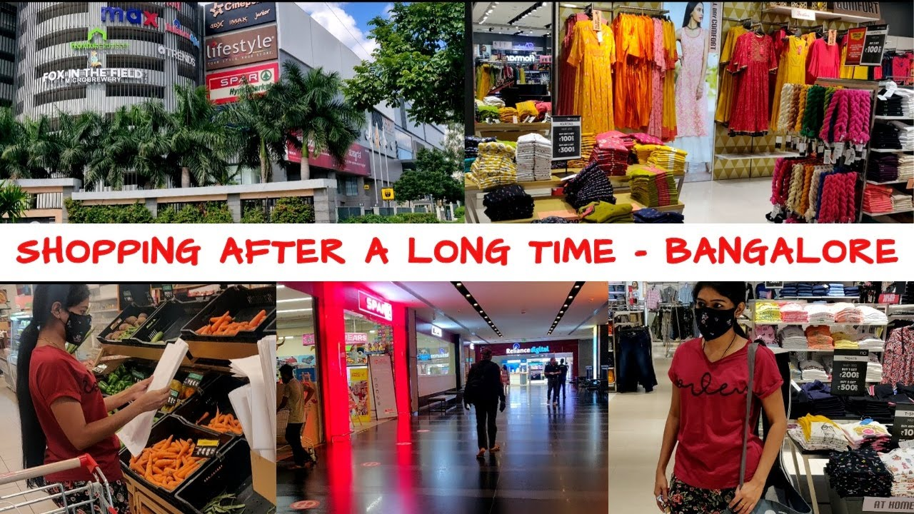 Never Seen Bangalore Roads & Mall Like This Before | Home Essential Shopping Vlog | VINI'S HAIR CARE
