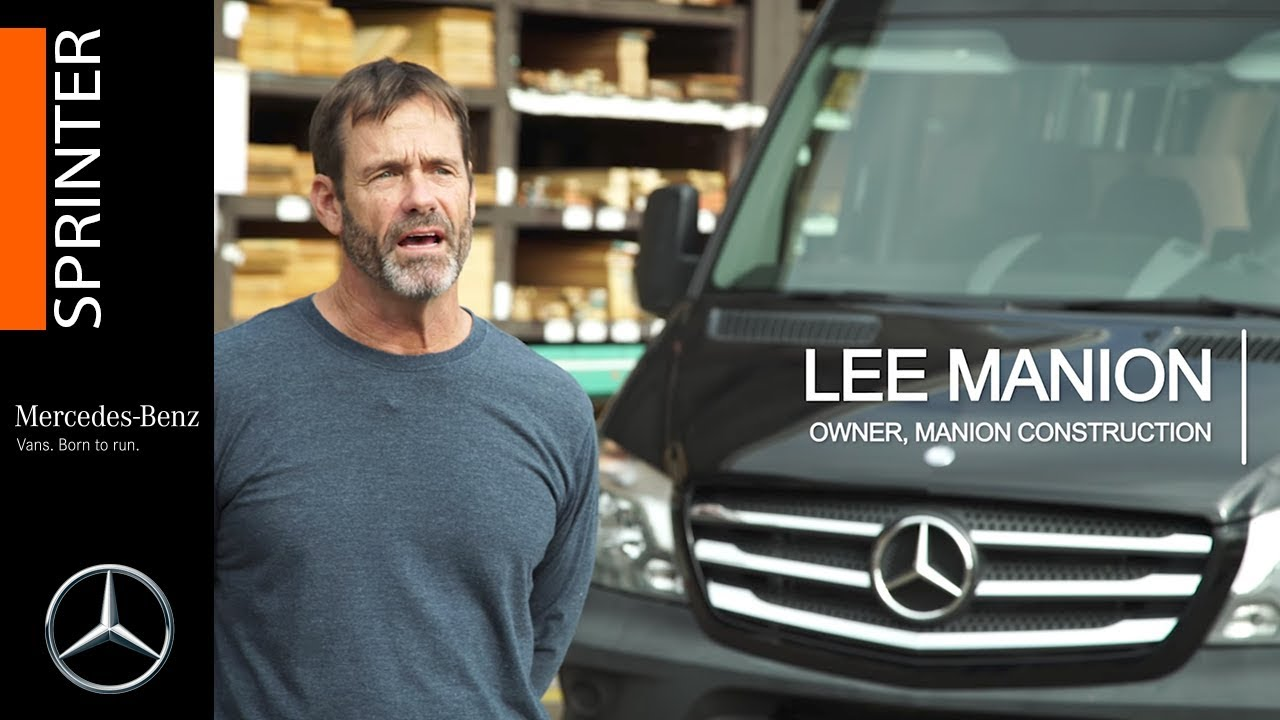 51fe573beb9 Tools of the trade  Manion Const. builds with Mercedes-Benz Sprinters