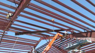 Lifting a Purlin Rafter