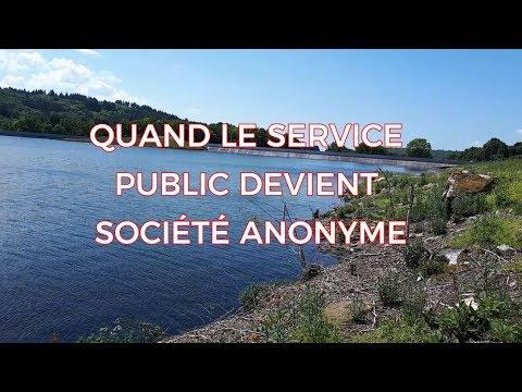 QUAND LE SERVICE PUBLIC DEVIENT SOCIÉTÉ ANONYME