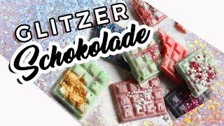 DIY Glitzer I Einhorn Schokolade I Ashley Forsson