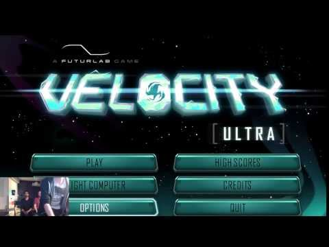 Velocity Ultra PC - FuturLab and Curve Studios  Interview Twitch Stream