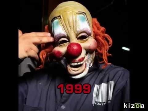 Slipknot Clown Mask Evolution (1999-2015) - YouTube