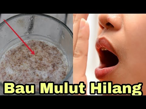 Cara Menghilangkan Bau Mulut Dalam 5 Menit Secara Alami
