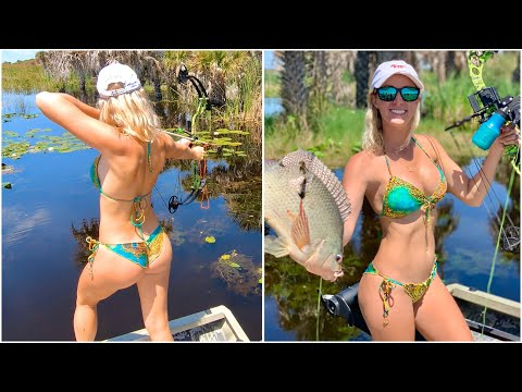 BIKINI Bowfishing In FLORIDA - Part 1