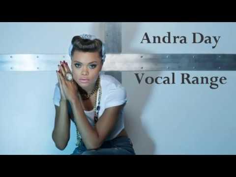 Andra Day - Vocal Range Studio (C3 - G5 - D6)