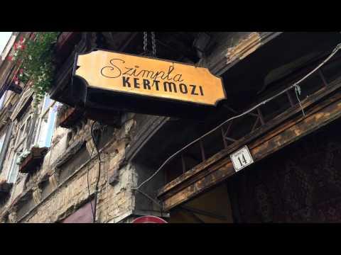 Les Bars De Ruines De Budapest