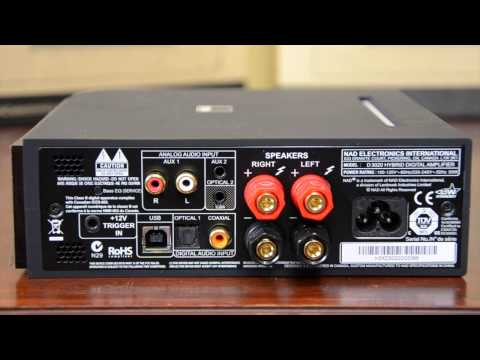The NAD D3020 Amplifier